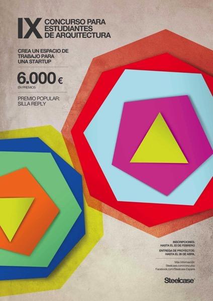 Cartel IX Concurso Arquitectura